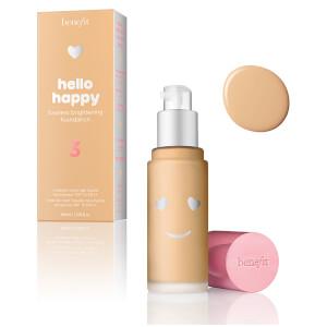 benefit Hello Happy Flawless Liquid Foundation (Various Shades)