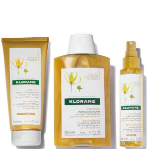 KLORANE Summer Shield Set for Hair Exposed to UV, Salt, Sand and Chlorine (Worth $53)