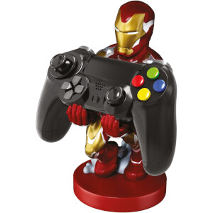 Supporto Cable Guy per controller e smartphone di Iron Man, da Avengers: Endgame, Marvel - 20 cm