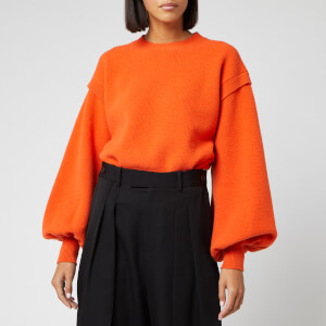 JW Anderson Women's Balloon Sleeve Jumper - Tangerine