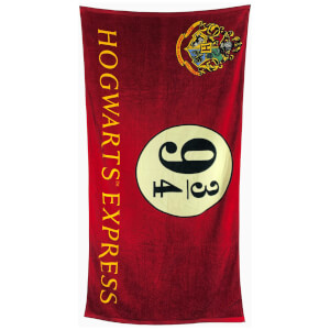 Harry Potter 9 3/4 Towel 75cm x 150cm