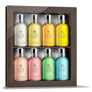Molton Brown Enlivening Bathing Travel Collection 8 x 50ml
