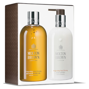 Molton Brown Invigorating Suma Ginseng Bath and Body Collection 2 x 300ml
