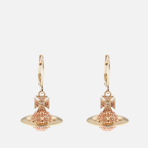 Vivienne Westwood Women's Lena Orb Earrings - Gold Light Peach