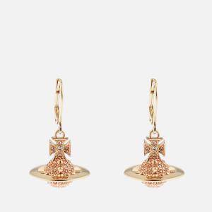 Vivienne Westwood Women's Lena Orb Earrings - Gold Light Peach