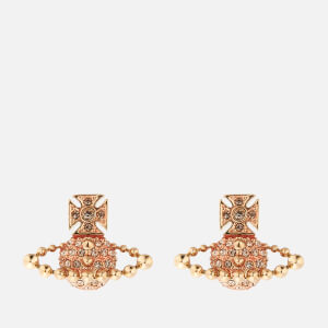 Vivienne Westwood Women's Lena Bas Relief Earrings - Gold Light Peach
