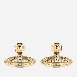 Vivienne Westwood Women's Pina Bas Relief Earrings - Gold Crystal