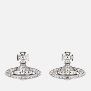 Vivienne Westwood Women's Pina Bas Relief Earrings - Rhodium Crystal