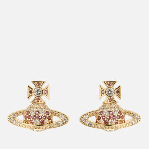 Vivienne Westwood Women's Virginia Bas Relief Earrings - Gold White
