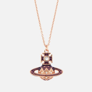Vivienne Westwood Women's Aretha Small Bas Relief Pendant - Pink Gold