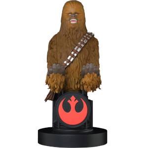 Star Wars Collectable Chewbacca 8 Inch Cable Guy Controller and Smartphone Stand
