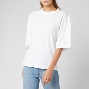 Levi's Women's Made and Crafted Oversized Sleeve T-Shirt - Bright White