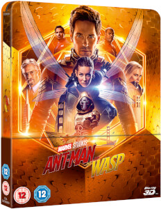 Ant-Man And The Wasp - 3D Zavvi UK Exclusive Lenticular Steelbook (Includes 2D Blu-ray)