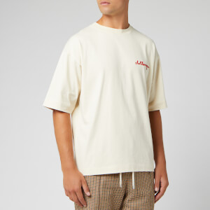 Champion X Clothsurgeon Men's Stript T-Shirt - Beige
