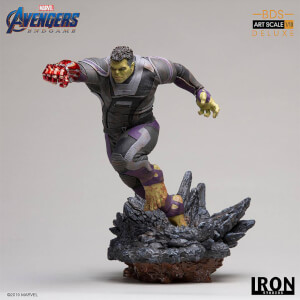 Iron Studios Avengers: Endgame BDS Art Scale Statue 1/10 Hulk Deluxe 22cm
