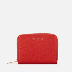 Ted Baker Women's Illda Zip Around Mini Purse - Red