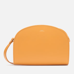 A.P.C. Women's Demi-Lune Cross Body Bag - Yellow
