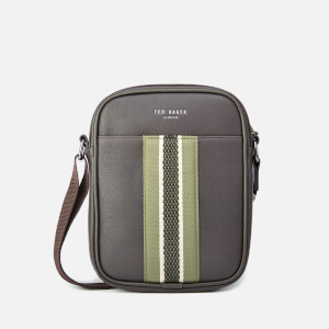 Ted Baker Men's Jets Webbing Mini Flight Bag - Chocolate