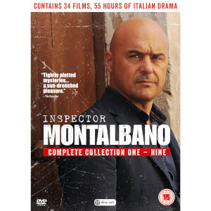Inspector Montalbano Complete 1-9 Boxed Set