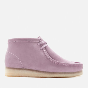 Clarks Originals Women's Wallabee Suede Shoes - Lavender