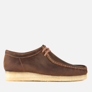 Clarks Originals Men's Wallabee Leather Shoes - Beeswax