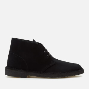 Clarks Originals Men's Suede Desert Boots - Black