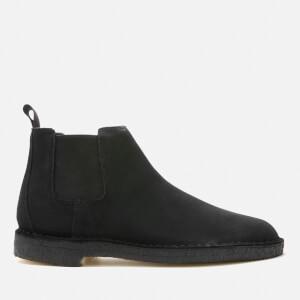Clarks Originals Men's Suede Desert Chelsea Boots - Black