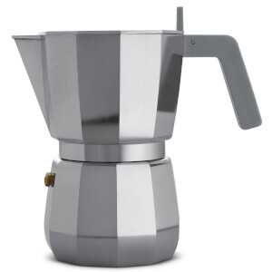 Alessi David Chipperfield 6 Cup Moka Espresso Maker