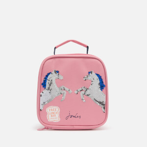 Joules Girls' Munch Bag - Pink Sequin Horse