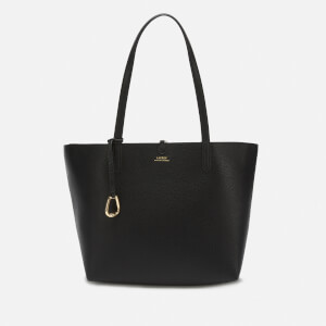 Lauren Ralph Lauren Women's Reversible Medium Tote Bag - Black/Taupe