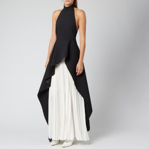 Solace London Women's Lavinia Maxi Dress - Black/Cream