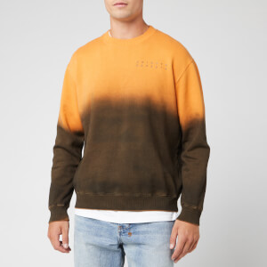 Axel Arigato Men's Karma Crew Neck Sweatshirt - Orange/Black