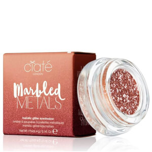 Ciaté London Marbled Metals Metallic Glitter Eyeshadow 4g (Various Shades)