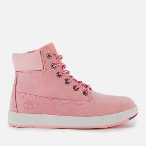 Timberland Kids' Davis Square Boots - Light Pink Nubuck