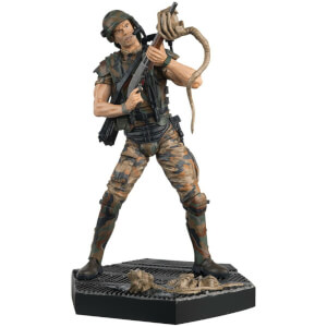 "Eaglemoss Figure Collection - Hicks From Alien Resin 5.5"" Figurine"