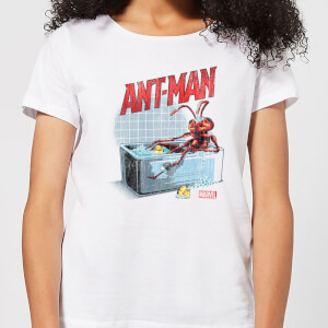 Marvel Bathing Ant Women's T-Shirt - White