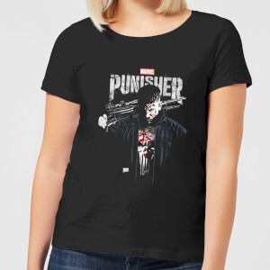 Marvel Frank Castle Women's T-Shirt - Black