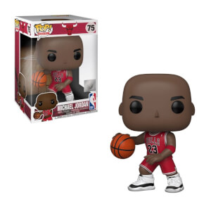 NBA Chicago Bulls Michael Jordan (Red Jersey) 10-Inch Funko Pop! Vinyl