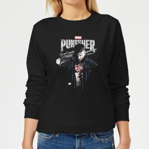 Marvel  Frank Castle Women's Sweatshirt - Black