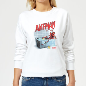 Marvel Bathing Ant Women's Sweatshirt - White