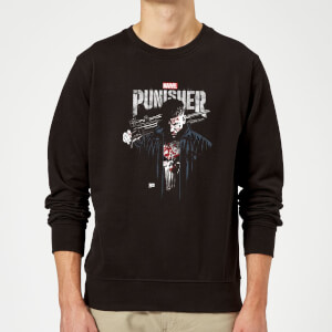 Marvel Frank Castle Sweatshirt - Black