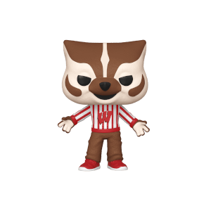 College Mascots University of Wisconsin Bucky Badger Funko Pop! Vinyl