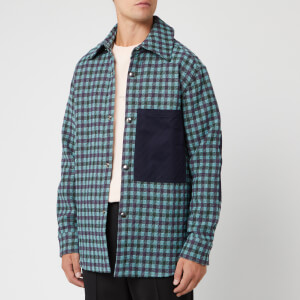 Acne Studios Men's Osman Vichy Check Jacket - Lilac/Mint