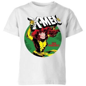 X-Men Defeated By Dark Phoenix Kids' T-Shirt - White