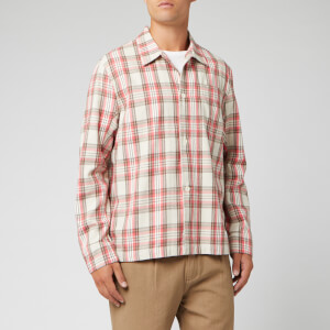 Our Legacy Men's Check Box Shirt - Pink