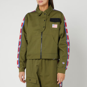 Champion Women's Milatry Jacket - Khaki
