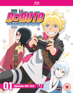 Boruto: Naruto Next Generations Set One (Episodes 1-13)
