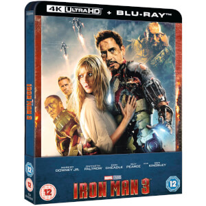Iron Man 3 - Steelbook 4K Ultra HD - Esclusiva Zavvi
