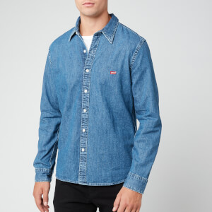 Levi's Men's Battery Housemark Denim Shirt - Redcast Stone
