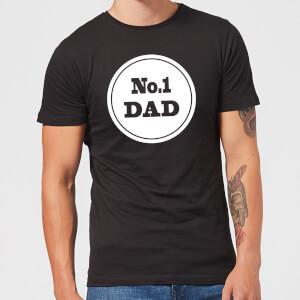 No. 1 Dad Men's T-Shirt - Black